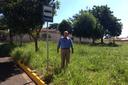 Careca exige melhorias em ponto de ônibus do bairro Colina do Sol