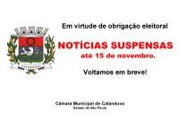 Comunicado Câmara Municipal de Catanduva