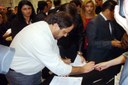 Crippa assina acordo de cooperação técnica para sinal de TV Digital