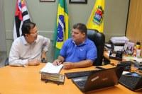 Ditinho Muleta recebe visita do Deputado Federal Dr. Sinval Malheiros, nesta sexta-feira (03/08)