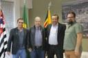 Dr. Luis Pereira recebe visita de representantes do IFSP