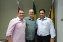 Enfermeiro Ari recebe atual presidente do PV do Estado de São Paulo