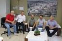 Enfermeiro Ari recebe visita de Lideranças Regionais, nesta segunda-feira (13/08)