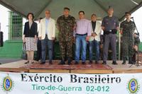 Maior autoridade do Exército Brasileiro no Estado de São Paulo esteve em Catanduva