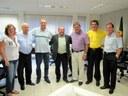 Presidente da Câmara de Rio Preto visita Daniel Palmeira