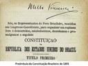 Primeira Constituição Republicana completa 120 anos
