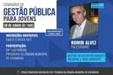 Seminário de Gestão Pública para jovens acontecerá no plenário da Câmara Municipal de Catanduva