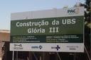 Vado cobra conclusão de obras da Unidade de Saúde do Parque Glória III